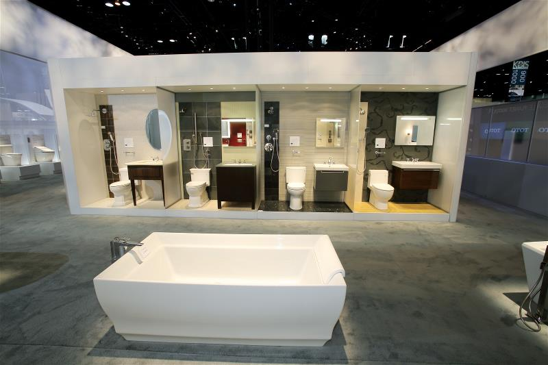 TOTO Kitchen and Bath Industry Show 2012