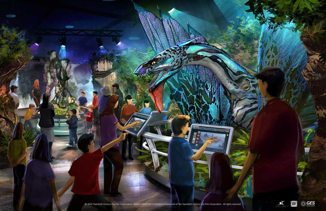 AVATAR™ Discover Pandora Exhibition Launches Its Worldwide Tour (2)