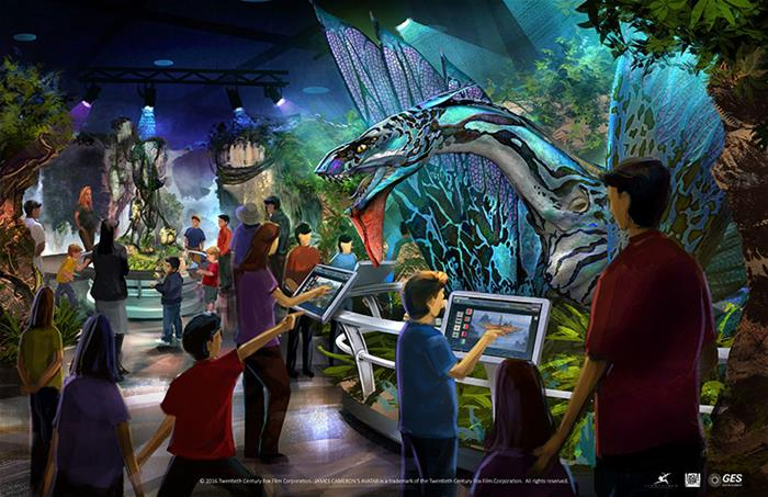 Avatar Discover Pandora Exhibition