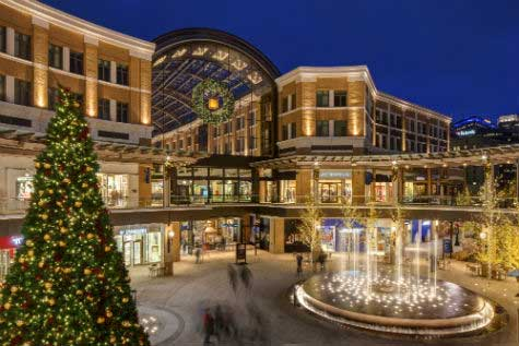 city creek Holiday Retail Experiences