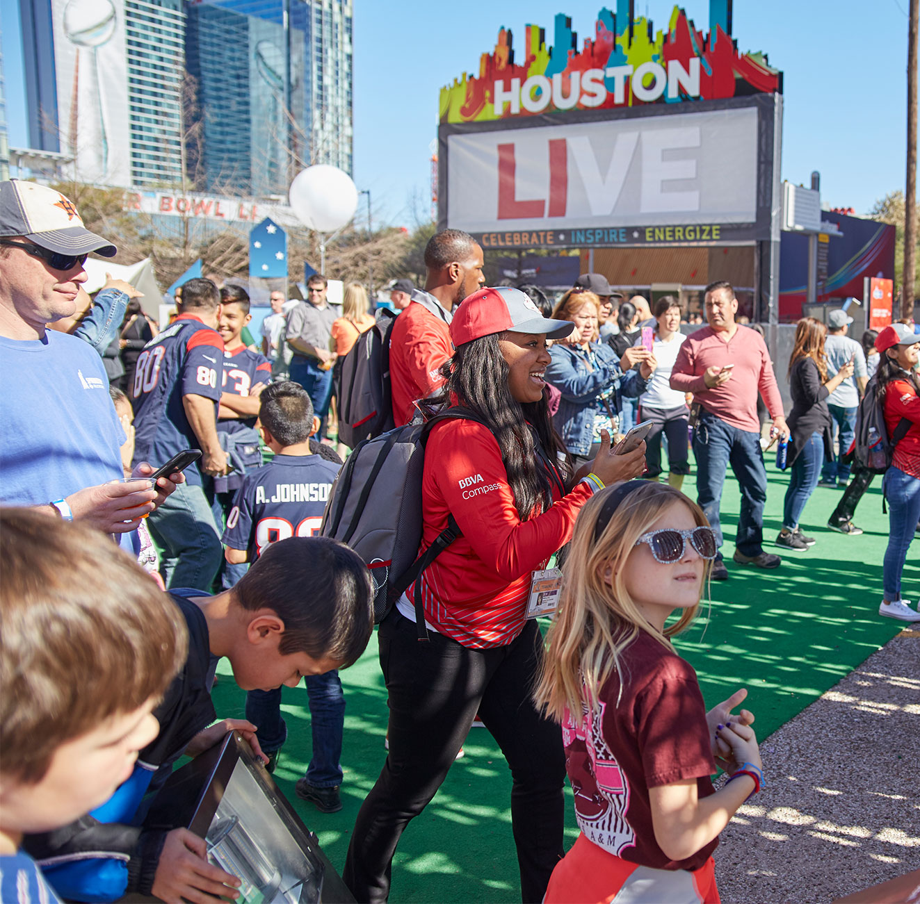 Houston LIVE-Super Bowl LIVE fan experience