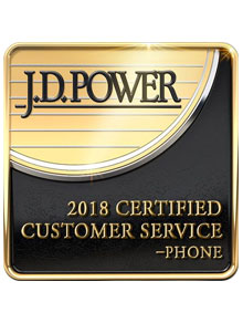 J.D. power award 2018 GES NATIONAL SERVICENTER