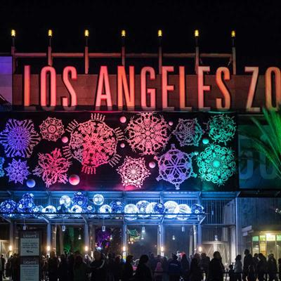 Los Angeles Zoo Lights