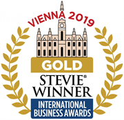 Gold Stevie Winner 2019